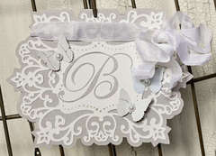 Wedding Monogram Card