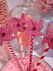 New Self Adhesive Paper Pinwheels and Perfect Party Stylish Stix