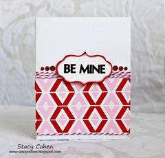 Be Mine featuring Queen & Co's New Valentine Trendy Tape
