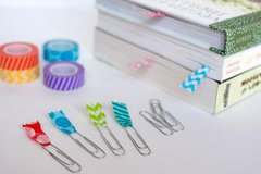 Queen  Co Trendy Tape Bookmarks by Jen Perks