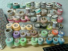 Trendy Tape Storage Idea from Erika Hayes