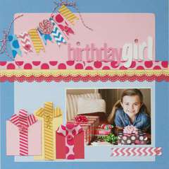 Birthday Girl featuring Queen & Co Trendy Tape