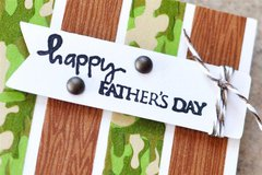 Happy Father's Day featuring the Washi Tape from Queen & Co