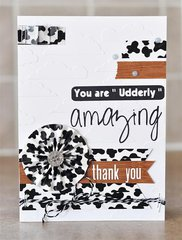 Thank You featuring new Trendy Tape from Queen & Company
