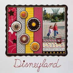 Disneyland by Stacy Cohen featuring the Queen & Co Magic Collection