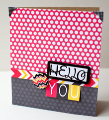 Hello You card by Susan Weinroth