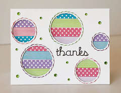 Thanks featuring Queen & Co Trendy Tape in Polka dots and stripes