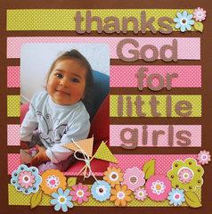 Thanks God for little girls