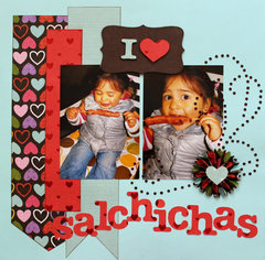 I love Salchichas