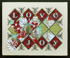 Love Joy Sampler featuring BasicGrey's new Aspen Frost Collection