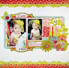 Cute by Lady Grace Belarmino featuring Konnichiwa from BasicGrey