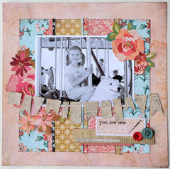 Sew Sweet by Jana Eubank featuring Lucille from BasicGrey