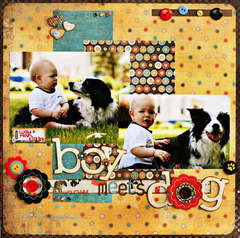 *Boy Meets Dog* Featuring MAX & WHISKERS by AnnaMarie Mondro