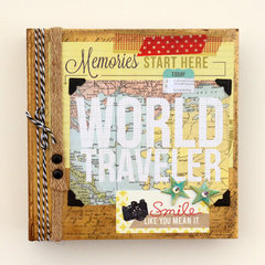 World Traveler by Vicki Boutin featuing Capture from BasicGrey