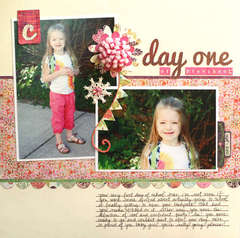 Day One of Preschool by Melanie Bauer
