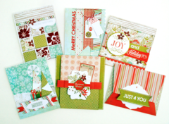 Holiday Cards with BasicGrey's Aspen Frost Collection
