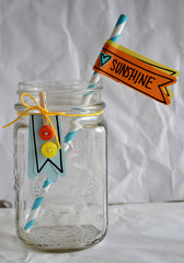 Sunshine drink jar