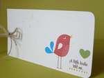 Little Birdie tag