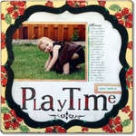 Playtime *Technique Tuesday Clear Stamps*