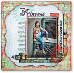 Urban Princess *Technique Tuesday Clear Stamps*