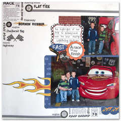 Disney Cars multi photo - Fast
