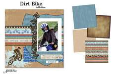 Dirt Bike Colletion from Adornit with Carolee's Creations