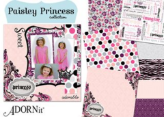 Paisley Princess Collection from Adornit