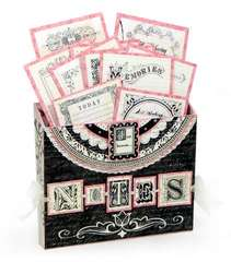 Narratives French Sweet Pea Wall Pocket
