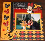 Disney Pluto & Minnie 1987  2 HAPPY KIDS