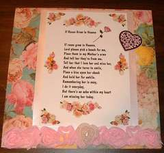 If Roses Grow in Heaven     my beautiful Mother pg 1
