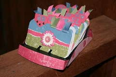 Pink & Blue Rolodex