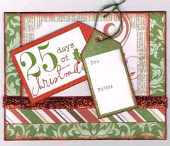 25 Days of Christmas Card