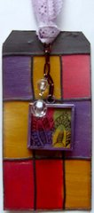 Stained Glass Tag