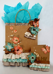 Gift Bag, Tag and Card with Video Tutorial