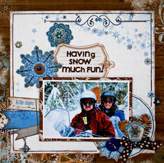 Snow Fun **Bo Bunny - Blog Hop**