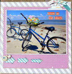 bikes on the beach