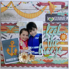 Feel the Breeze ~My Creative Scrapbook DT~