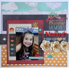 At Nanny's ~My Creative Scrapbook DT~