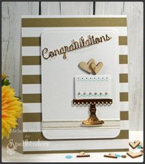 Congratulations wedding cake