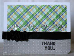 Thank you card by AJ Otto