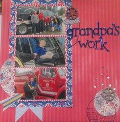 grandpa's work