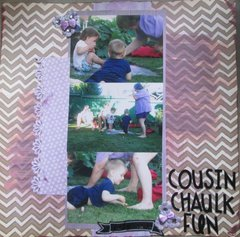 Cousin Chaulk Fun