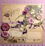 Graphic 45 March Calendar Page