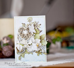 *Blue Fern Studios* Wedding card