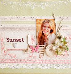 Sunset *C'est Magnifique* August kit