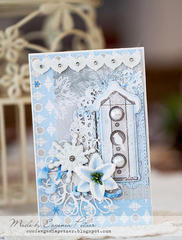 Cosy winter scene **SCRAPS OF ELEGANCE**