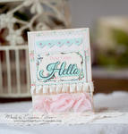 Hello *Scraps of Elegance* March kit