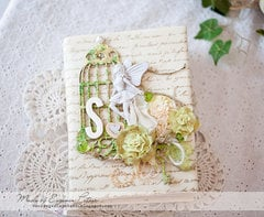 *Blue Fern Studios* Fabric Journal