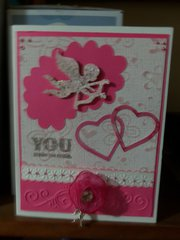 Pink Classic love card