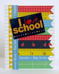 Pebbles Inc. Back To School Cards by Mendi Yoshikawa